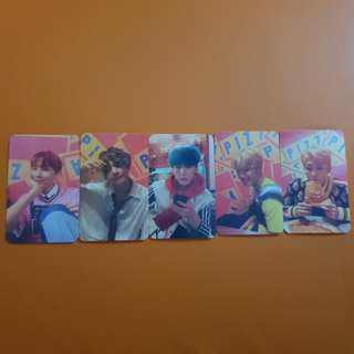 [CLEARANCE] 5pcs BTS Love Yourself Her E ver.