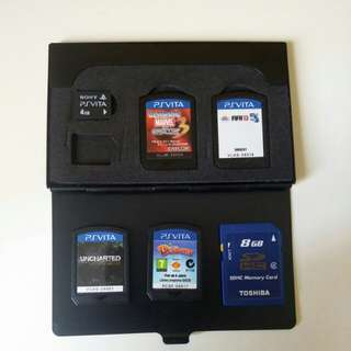 PS Vita Games Card Bundle