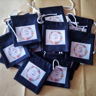 MTO - Drawstring Pouch giveaways