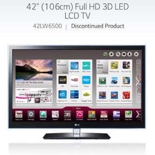 LG 42' TV