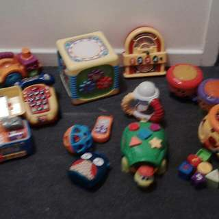 Baby toys 15 musical fun perfect condition