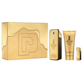PACO RABANNE 1 MILLION 3 PCS GIFT SET FOR MEN (100ml EDT+Miniature+Shower Gel)