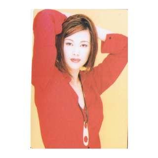 5617,YES CARD-王馨平,背面曲詞-寂寞女人心
