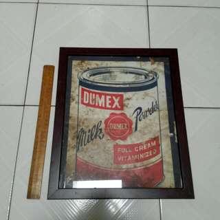 Dumex Tin Sign Vintage 4