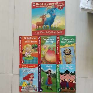 Ladybird read it yourself series