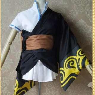 银魂 cosplay坂田金时萝莉性轉 和服