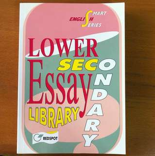 Lower Secondary Essay Library Book