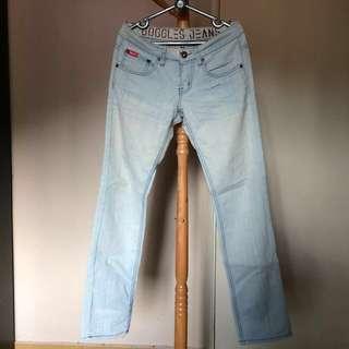 Googles Light Blue Jeans