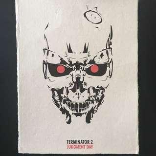 Terminator 2 Judgement Day Movie Poster