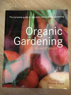Book- organic gardening