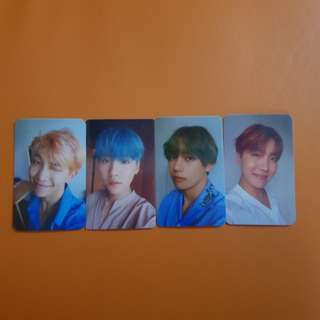 [CLEARANCE] 4pcs BTS Love Yourself Her L ver.