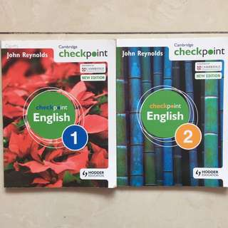Cambridge Checkpoint English 1 & 2