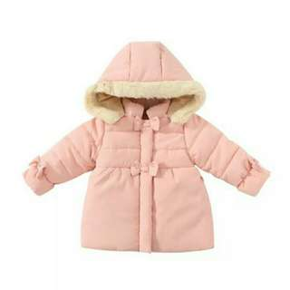 [NEW ARRIVAL] Girls Pretty in Pink Winter Fur Coat!