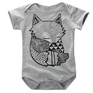 Fox Baby Romper PreOrder
