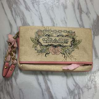 Authentic coach clutch 手挽袋