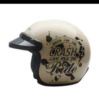 Helmet Cargloss CF Retro Crash Ride