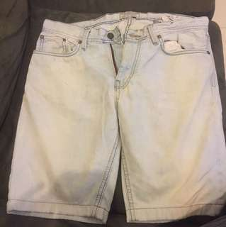 Pull and Bear short pants denim