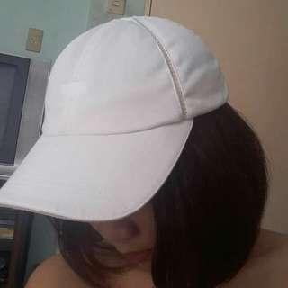 Reebok plain white cap