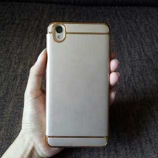 Luxury 3in1 metallic case