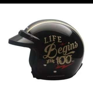 Helmet Cargloss CF Retro Beginners