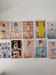 TWICE signal cards