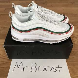 *READY STOCK* Undefeated Nike Air Max 97 PK GOD