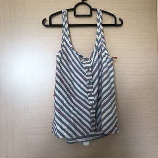 Pull&Bear Striped Top