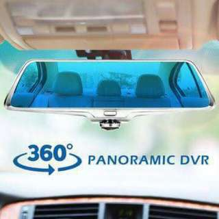 Dashcam A66 360° panoramic camera