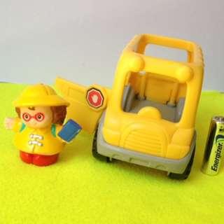 Fisher Price Little People Mini School Bus