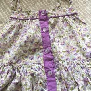 Cute floral purple dress 4T