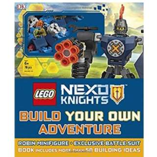 PO: LEGO NEXO KNIGHTS Build Your Own Adventure