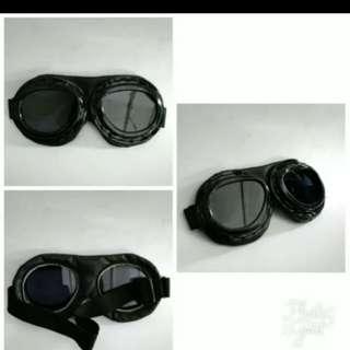 Retro chip riding goggles