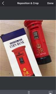 1997s香港回歸圓柱皇家郵筒(全新有盒有包裝袋 100% 真/正貨 REAL & NEW % 拒絕❌淘寶貨)