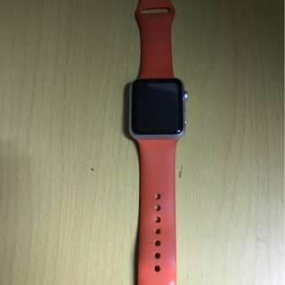 Apple Watch 42 mm series 1 橙色錶帶