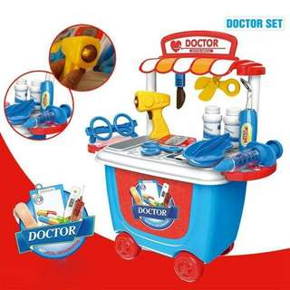 DOCTOR CART PLAYSET Php700