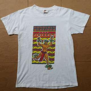 Vintage 90s nike marathon t shirt
