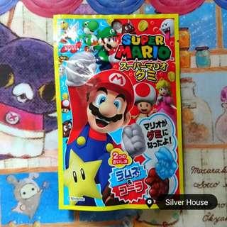 🚀(日本直送) Super Mario瑪利奧兄弟造型軟糖 *包郵