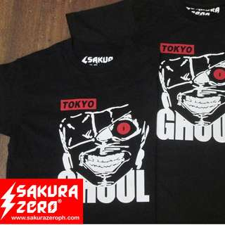 Tokyo Ghoul Eyepatch Anime T Shirt
