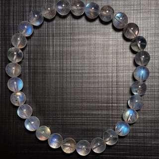 水晶 crystal 全清月亮石 6.2mm