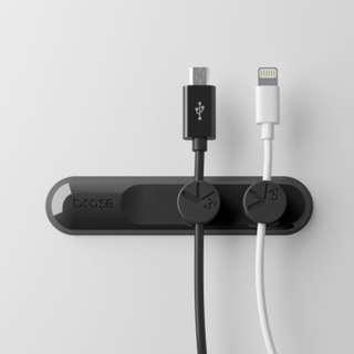 {BNIB} Bcase T'UP Magnetic Cable Management - Black