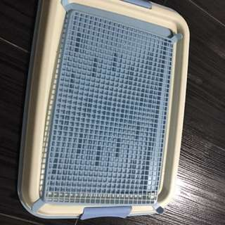 Dog pee tray. Urine trainer