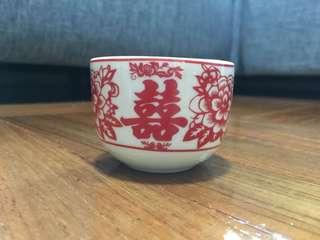 結婚敬茶陶瓷杯