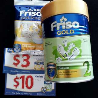 Friso Gold Formula Milk Stage 2