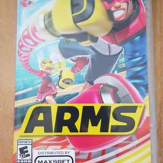 Nitendo Switch Game - Arms