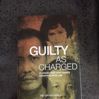 Guilty as charged Book