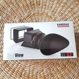 Kamerar stick on lcd view finder canon 5d mkiii 1dx nikon d800