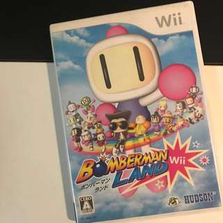 Wii Bomberban Land Party Game by Hudson