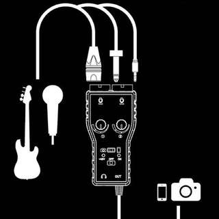 Saramonic SmartRig+ ( Two-channel Mic&Guitar Interface )