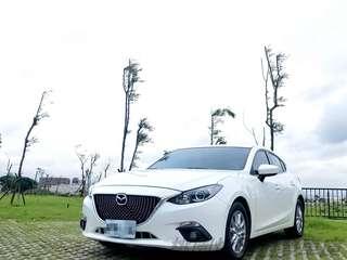 16年Mazda3 受夠天冷還要騎車吹風淋雨?歡迎來電讓您免受寒風折磨0938-552-004煒翔