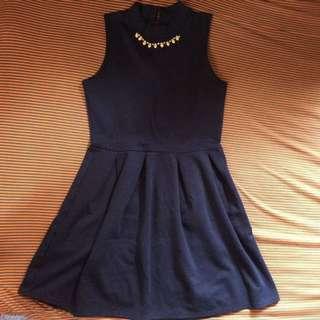 Navy Blue Dress 👗